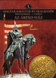 Az Árpád háza-Magyar királyok és uralkodók 1-9 kotet-krabica