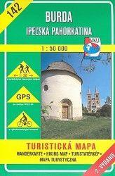 Burd-Ipeľská pahorkatina TM 142 1:50 000