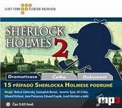 CD-15 případů Sherlocka Holmese podruhé (MP3)