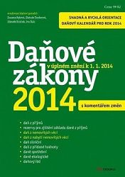 Daňové zákony 2014