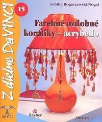 DaVinci 15 Farebné ozdobné koráliky-acrybello
