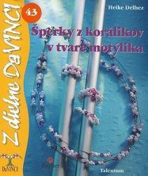 DaVinci 43 Šperky z korálikov v tvare motýlika