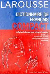 Dictionnaire de Francais Compact