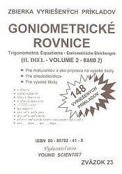 Goniometrické rovnice II. diel zväzok23