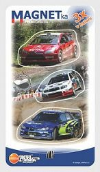 Magnetky / Rally auta 1