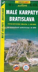 Malé Karpaty, Bratislava - turistická mapa 1:50000
