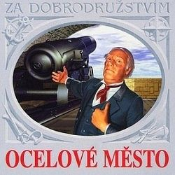 Ocelové město - audiokniha na CD