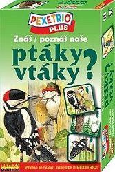 Pexetrio/Znáš naše ptáky ?