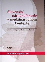Slovenské národné hnutie v medzinarodnon kontexte