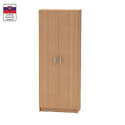 TEMPO KONDELA 2-dverová skriňa, policová, buk, BETTY 7 BE07-004-00