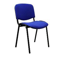 TEMPO KONDELA Kancelárska stolička, modrá, ISO NEW