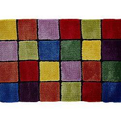 TEMPO KONDELA Koberec, červená/zelená/žltá/fialová, 140x200, LUDVIG TYP 4