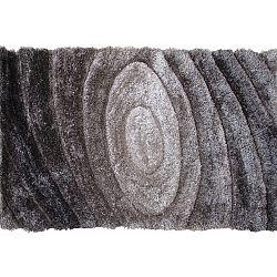TEMPO KONDELA Koberec, sivý, vzor, 140x200, VANJA