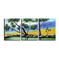 TEMPO KONDELA Obraz, ručne maľovaný, 150x60 cm, 21582