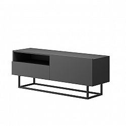 TEMPO KONDELA RTV stolík bez podstavy, grafit, Spring ERTVSZ120