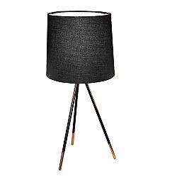 TEMPO KONDELA Stolná lampa, čierna, JADE Typ 4 8008-44A