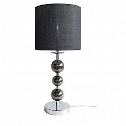 TEMPO KONDELA Stolná lampa, čierna, JADE TYP 8 6467-35