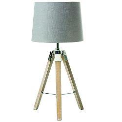 TEMPO KONDELA Stolná lampa, sivá, JADE Typ 2 8008-17B