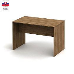 TEMPO KONDELA Zasadací stôl 120, bardolino tmavé, TEMPO ASISTENT NEW 021 ZA