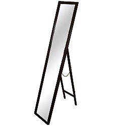 TEMPO KONDELA Zrkadlo, drevený rám hnedej farby, MALKIA TYP 4