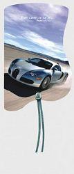 Záložka magnetická / Bugatti