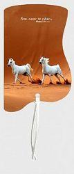 Záložka magnetická / Koně na poušti