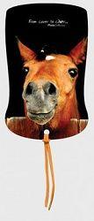 Záložka magnetická / Kůň ve stáji