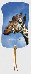 Záložka magnetická / Žirafa