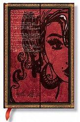 Zápisník Paperblanks Amy Winehouse mini čistý
