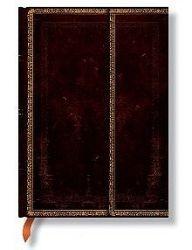 Zápisník Paperblanks Black Moroccan midi linajkový