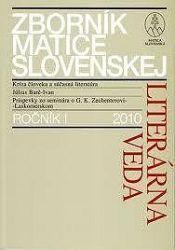 Zborník matice slovenskej ročník 1. 2010