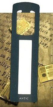 Antická záložka Mince tmavě zelená - AZ 003