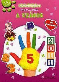 Lépésről lépésre matricás könyv - A számok