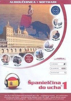 Španielčina do ucha 1 DVD