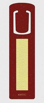 Záložka antiky / Text / červená