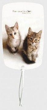Záložka magnetická / Dvě koťata