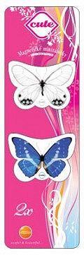 Záložka magnetická mini /CUTE Motýli 1