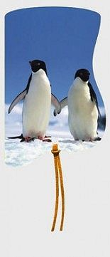 Záložka magnetická / Tučňáci