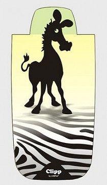 Záložka svítící / Zebra