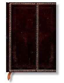 Zápisník Paperblanks Black Moroccan midi čistý